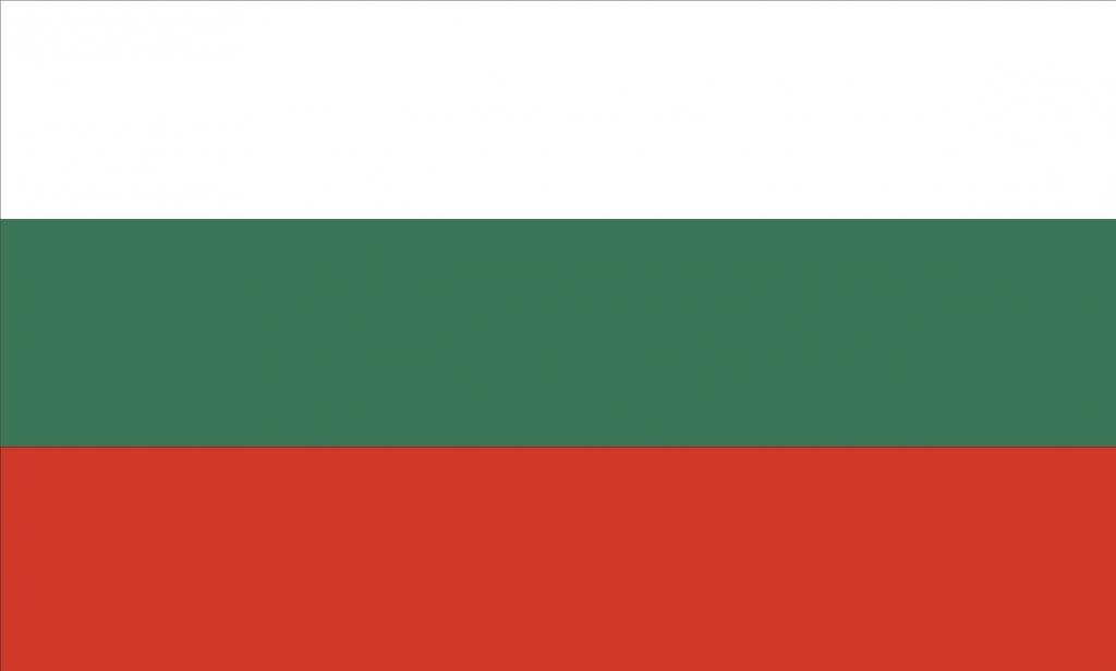 Bulgarien flag 90 x 150 cm