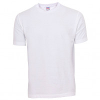Basis Cotton t-shirt hvid (white)