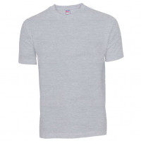 Basis Cotton t-shirt Oxford grå ( Oxford grey)