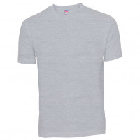 Basis Cotton t-shirt medium grå (med. Grey)