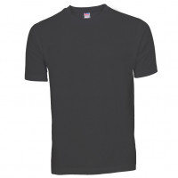 Basis Cotton t-shirt stålgrå (steel grey)