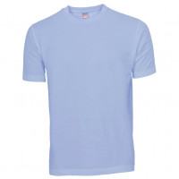Basis Cotton t-shirt lyseblå (light blue)