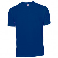 Basis Cotton t-shirt kongeblå (new royal)