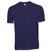 Basis Cotton t-shirt koboltblå (cobalt)