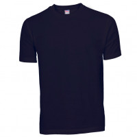 Basis Cotton t-shirt mørk navy blå (Dark navy)