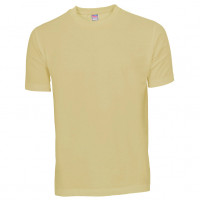 Basis Cotton t-shirt sandfarvet (sand)