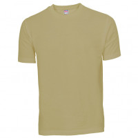 Basis Cotton t-shirt khaki