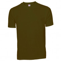 Basis Cotton t-shirt olivengrøn (olive)