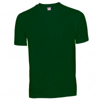 Basis Cotton t-shirt flaskegrøn (bottle green)