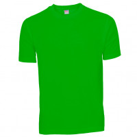 Basis Cotton t-shirt forårsgrøn (spring green)