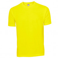 Basis Cotton t-shirt gul (yellow)