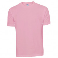Basis Cotton t-shirt lyserød (rose)
