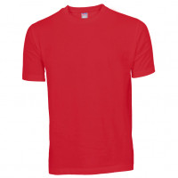 Basis Cotton t-shirt rød (red)