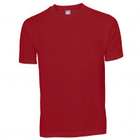 Basis Cotton t-shirt bordeaux