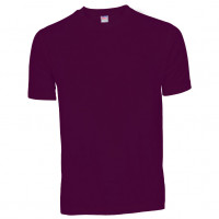 Basis Cotton t-shirt lilla (violet)