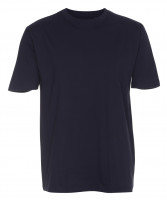 Basis Cotton t-shirt Navyblå (Blue navy)