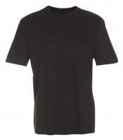 Basis Cotton t-shirt Mørkegrå (black grey)