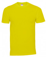 Plain Cam t-shirt gul (yellow)