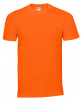 Plain Cam t-shirt orange