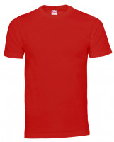 Plain Cam t-shirt rød (red)