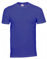 Plain Cam t-shirt kongeblå (new royal)