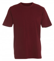 Heavy Luxe T-shirt bordeaux