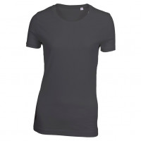 Lady Tee T-shirt sort (black)