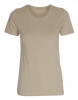 Womens Work Wear T-shirt sandfarvet (sand)