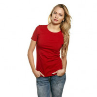 Womens Work Wear T-shirt rød (red)