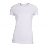 Lady Fitted T-shirt hvid (white)
