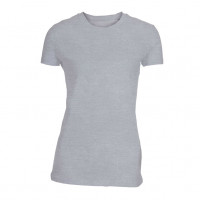 Lady Fitted T-shirt Oxford grå ( Oxford grey)