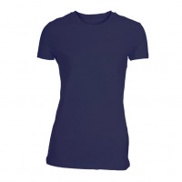 Lady Fitted T-shirt Navyblå (Blue navy)