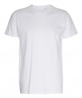 Mens Fitted T-shirt hvid (white)