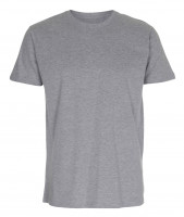 Mens Fitted T-shirt Oxford grå ( Oxford grey)