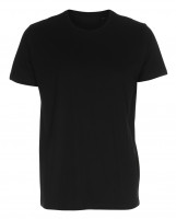 Mens Fitted T-shirt sort (black)