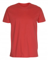 Mens Fitted T-shirt Varm rød (warm red)