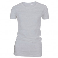 Lady Fashion T-shirt Oxford grå ( Oxford grey)