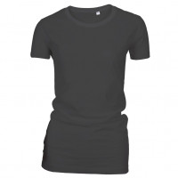 Lady Fashion T-shirt sort (black)