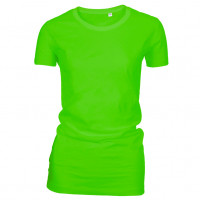 Lady Fashion T-shirt Lime