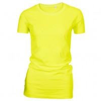 Lady Fashion T-shirt Lys gul (light yellow)