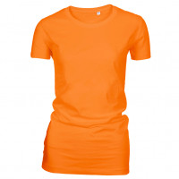 Lady Fashion T-shirt orange