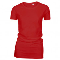 Lady Fashion T-shirt rød (red)