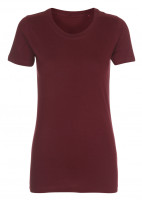Lady Fashion T-shirt burgundy