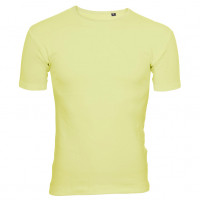 Uni Fashion T-shirt Lys gul (light yellow)