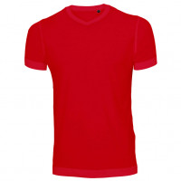 Uni Fashion V-Neck T-shirt rød (red)