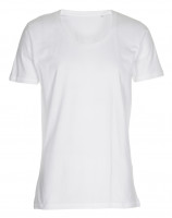 Mens Tee Deep Cut T-shirt hvid (white)