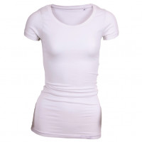 Long Stretch T-shirt hvid (white)