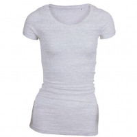 Long Stretch T-shirt Oxford grå ( Oxford grey)