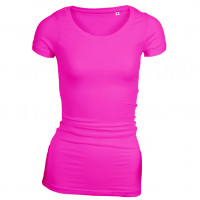 Long Stretch T-shirt pink