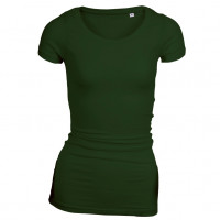 Long Stretch T-shirt Skovgrøn (forest green)